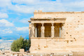 Erechtheion temple on Acropolis Hill, Athens Greece. - PhotoDune Item for Sale