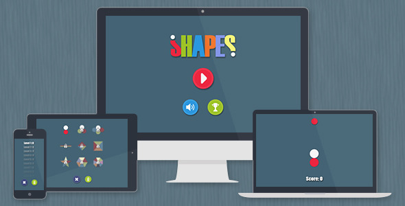 CodeCanyon Shapes Game HTML5&Android&iOS 9715290