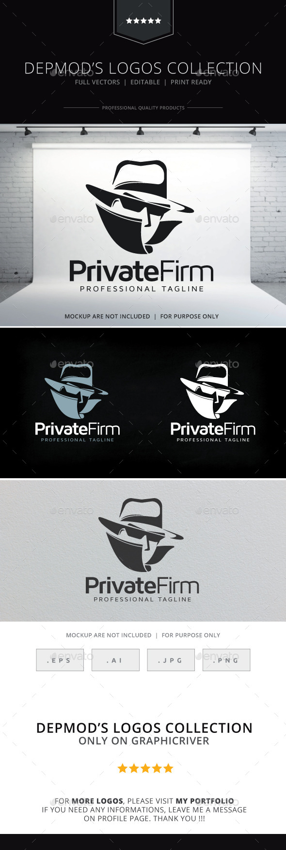 GraphicRiver Private Firm Logo 9715322