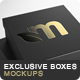 Exclusive Boxes Mockups - GraphicRiver Item for Sale
