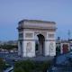 Arc Du Triomphe At Sunset, Paris France - VideoHive Item for Sale