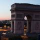 Arc Du Triomphe Sunset, Paris France - VideoHive Item for Sale