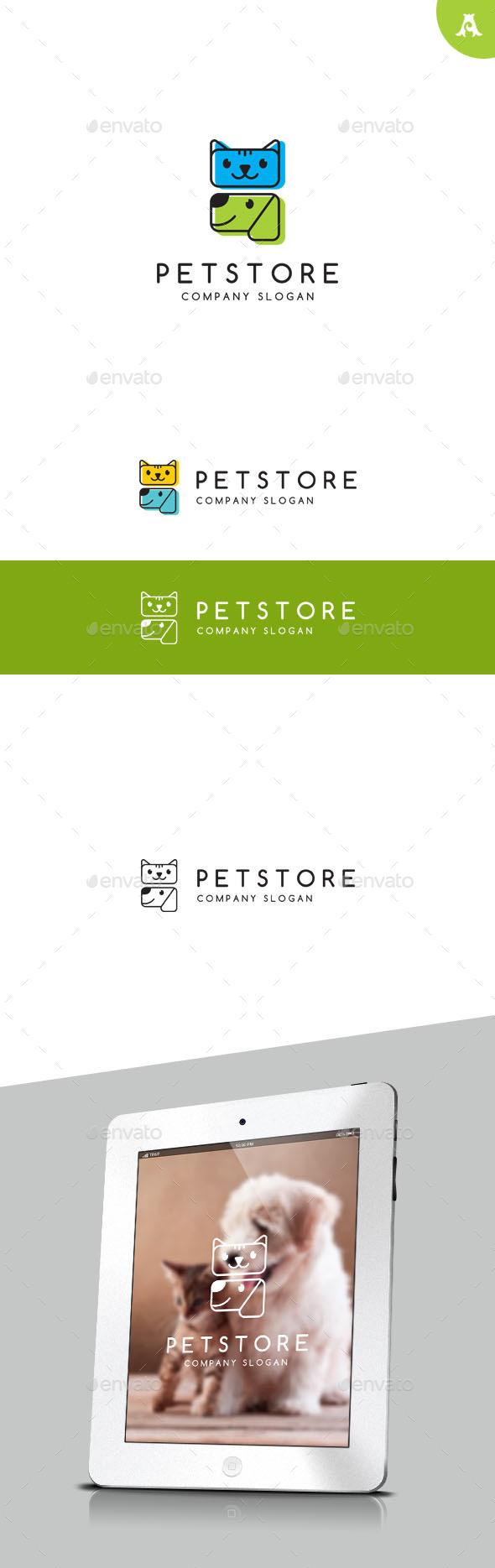 GraphicRiver Pet Store Logo 9716494