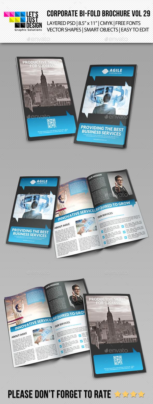 GraphicRiver Creative Corporate Bi-Fold Brochure Vol 29 9716562