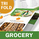 Grocery Store Trifold Brochure - GraphicRiver Item for Sale