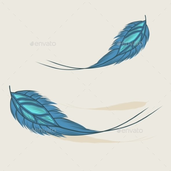 GraphicRiver Feathers 9717121