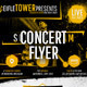 Concert Venue Show Flyer / Poster - GraphicRiver Item for Sale