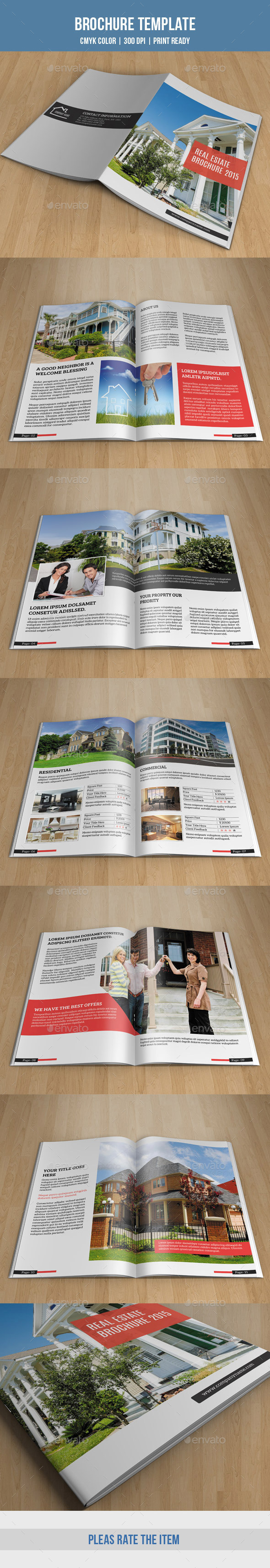 Real Estate Bifold Brochure-V164