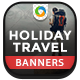 Travel Deal Banners - GraphicRiver Item for Sale