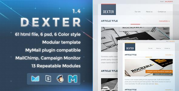 Dexter - Responsive E-mail Template
