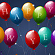 New Year Balloons - GraphicRiver Item for Sale