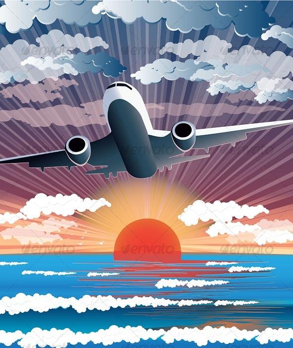 GraphicRiver Plane 123524
