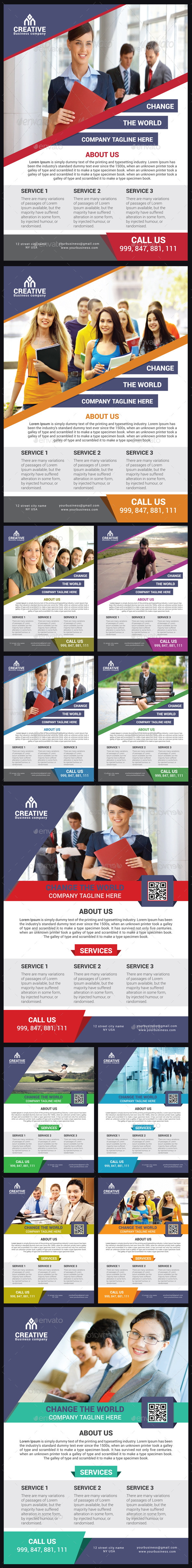 GraphicRiver Corporate Flyer Bundle 9718313