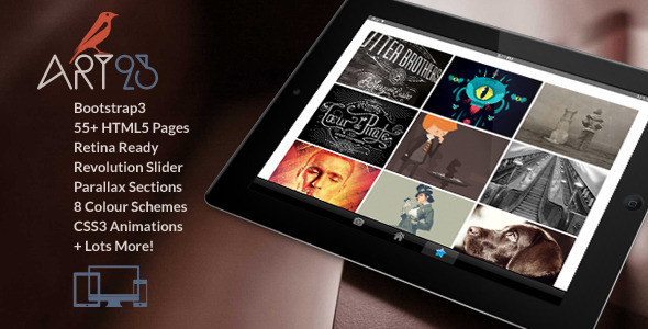 ThemeForest Art23 Responsive Multipurpose WordPress Theme 9701924