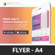 Mobile Apps Promotion Flyers Bundle - GraphicRiver Item for Sale