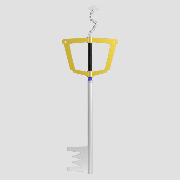 sora key blade - 3DOcean Item for Sale
