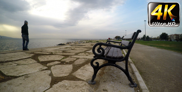 VideoHive Seat Near the Sea 9718828