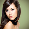 Beautiful white woman with long brown hair - PhotoDune Item for Sale