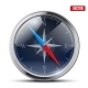 Glossy Bright Vintage Compass - GraphicRiver Item for Sale