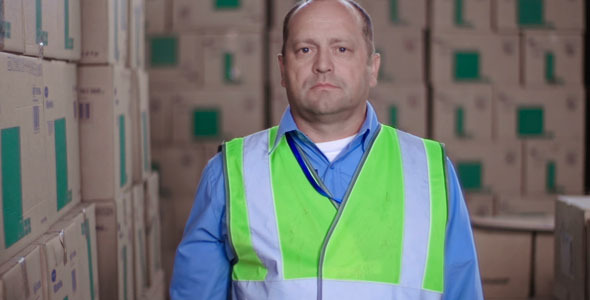 VideoHive Warehouse Worker 9718954