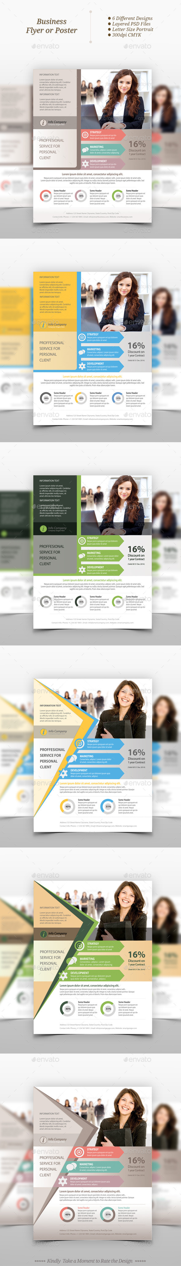 GraphicRiver Multipurpose Business Flyer Templates 9719038
