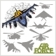 Air force Silhouettes - GraphicRiver Item for Sale