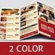 Tri Fold Restaurant Foods Menu - GraphicRiver Item for Sale
