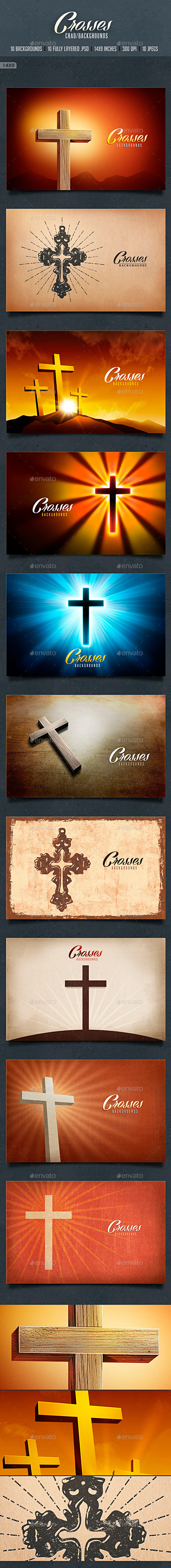 Crosses Card backgrounds