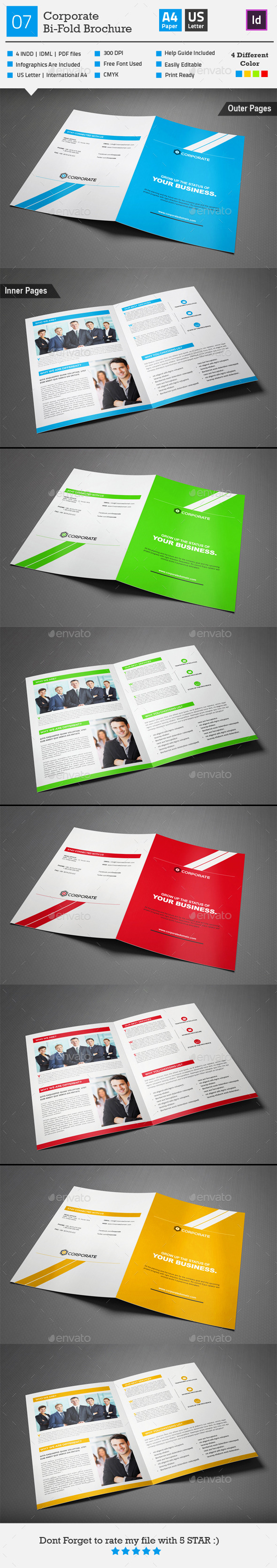 GraphicRiver Corporate Bi-fold Brochure 07 9719389
