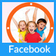 Kids Party Facebook Timeline Cover - GraphicRiver Item for Sale