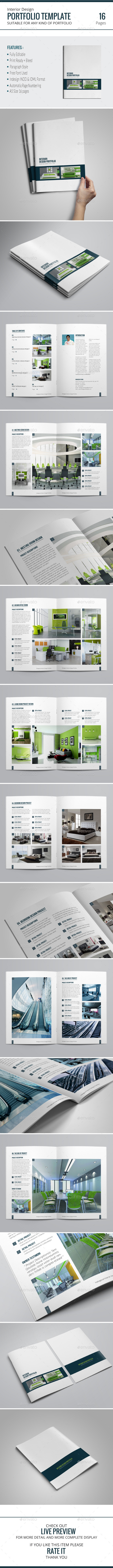 GraphicRiver Portfolio Brochure Template 9719532