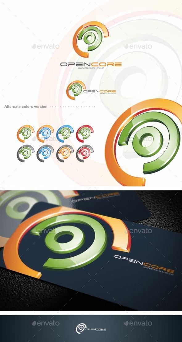 GraphicRiver Open Core Logo Template 9719577