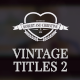 Vintage Romantic Titles Pack 2 - VideoHive Item for Sale