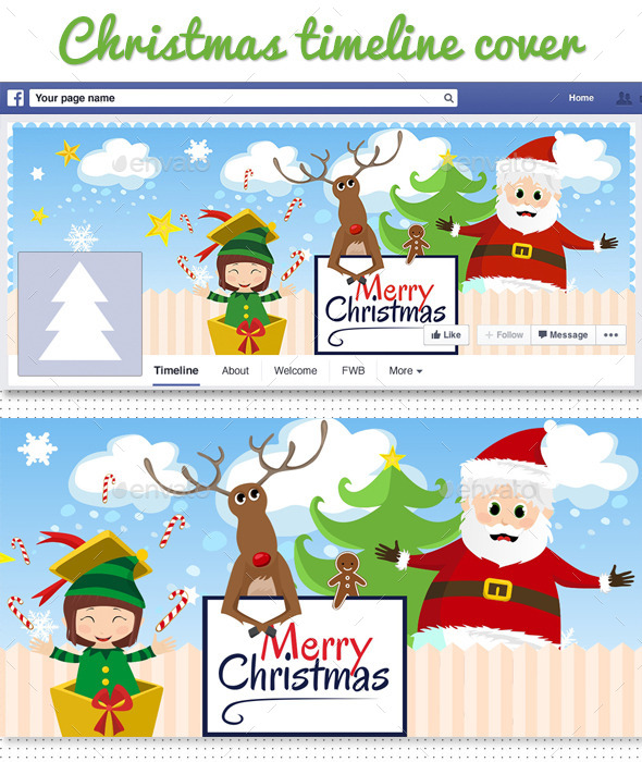 Facebook Christmas Timeline Cover