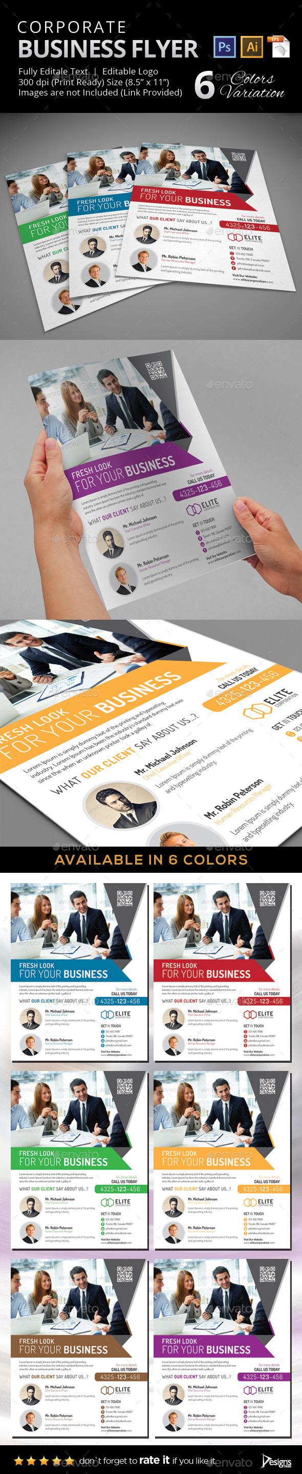 GraphicRiver Flyer Multipurpose Business Flyer 20 9719692