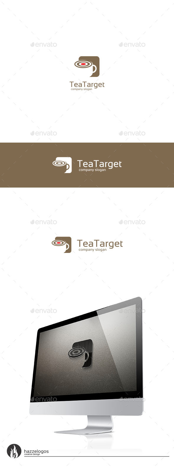GraphicRiver Tea Target Logo 9719766