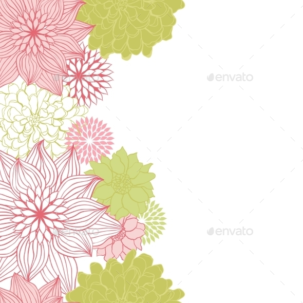 GraphicRiver Abstract Floral Seamless Pattern 9719769