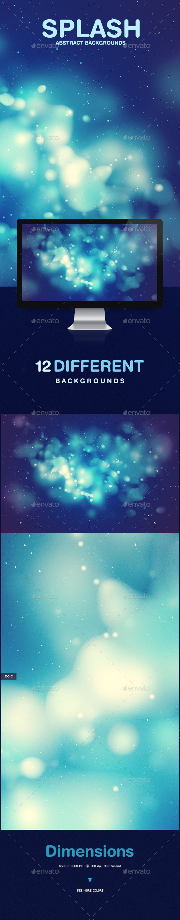 GraphicRiver Splash Abstract Backgrounds 9719906