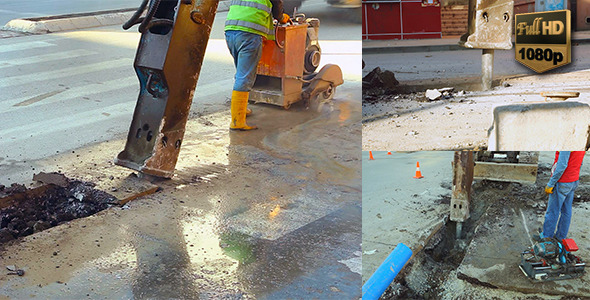VideoHive Road Construction 9719907