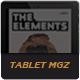The Elements Tablet Magazine - GraphicRiver Item for Sale