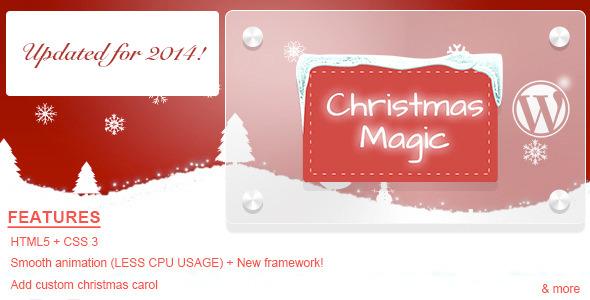 Christmas Magic AA-Snow Wordpress Plugin