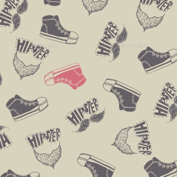 GraphicRiver Sneakers Fashion Background 9720108