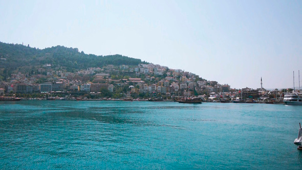 VideoHive Ships In Bay Of Alanya Turkey 9720148