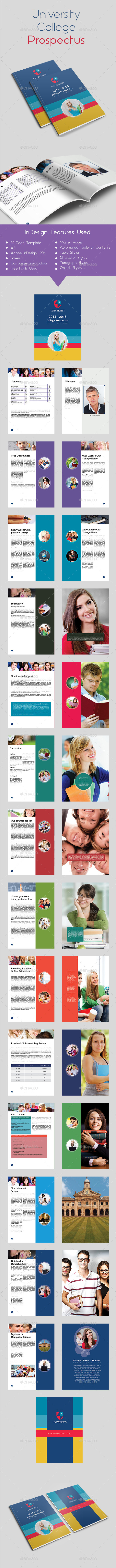 GraphicRiver University College Prospectus 9720170