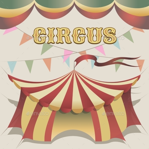 GraphicRiver Circus Tent 9720189