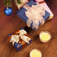 Christmas boxes with two candle - PhotoDune Item for Sale