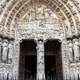 Notre Dame cathedral facade in Paris - PhotoDune Item for Sale