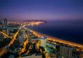 the coast and high rise skyline of benidorm - PhotoDune Item for Sale