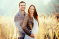Pregnant couple outdoors - PhotoDune Item for Sale