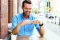 Browsing internet at cafe - PhotoDune Item for Sale